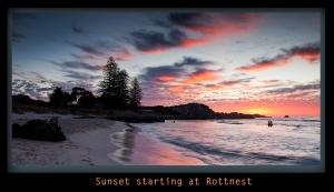 Sunset Starting