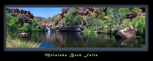 Melaluka Back Falls