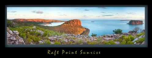 Raft Point Sunrise