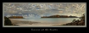 Sunrise at the Hunter