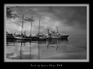 Port of Spain B&W